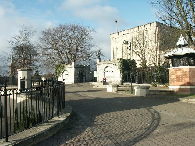 Norwich Castle entrance