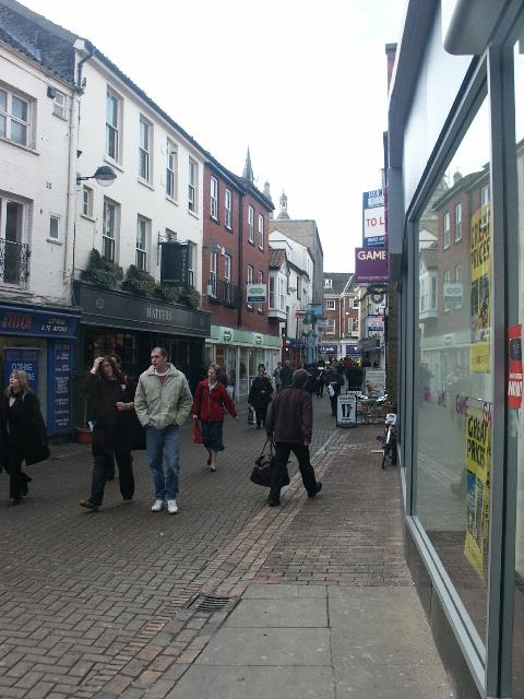 White Lion Street, Norwich