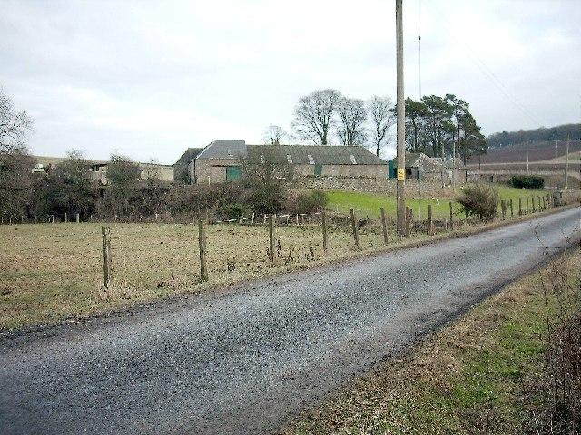 Nether Arniefoul Farm,near Glamis.