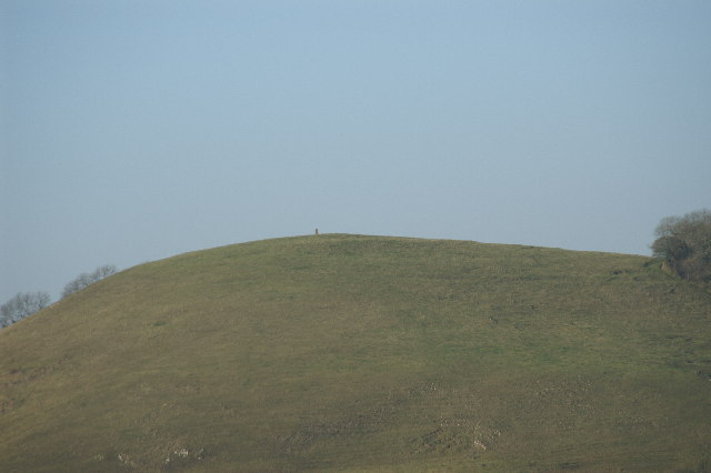 Nyland Hill, with trig point