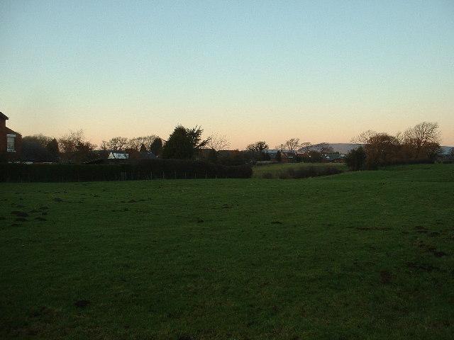 Farmland near Longridge