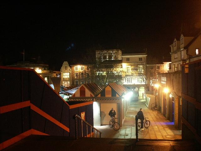 Norwich market and castle