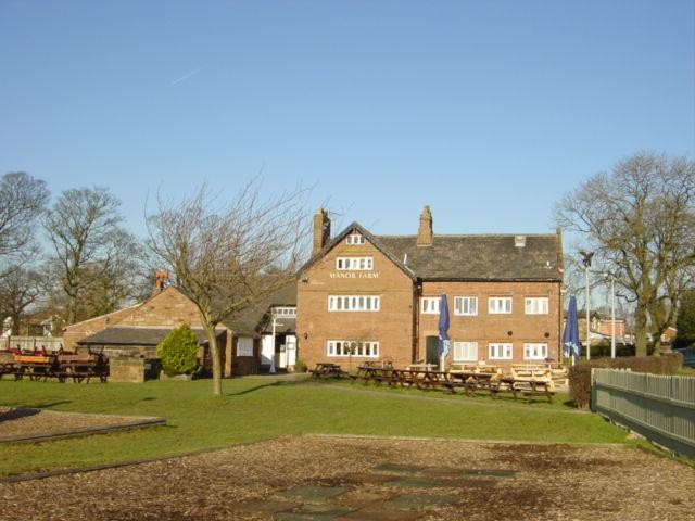 Manor Farm Public House, Rainhill