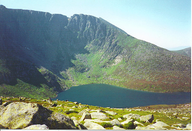 Lochnagar - Mountain and Corrie Lochan.