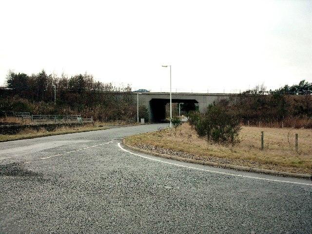 A90 Bridge near Gateside and Inverarity.