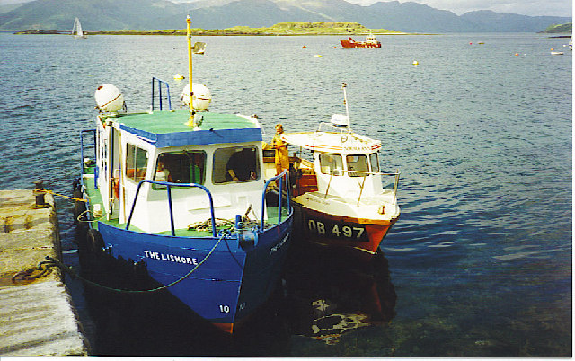 The Lismore Ferry at Port Appin.