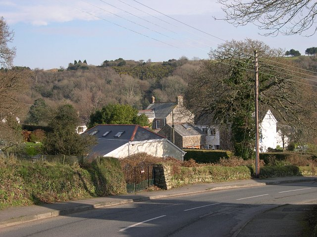 Houses at Polgooth