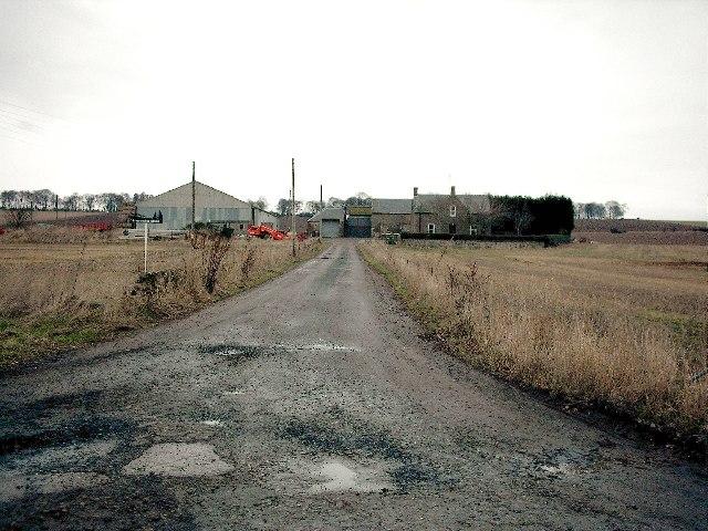 North Mains of Invereighty Farm,near Forfar.