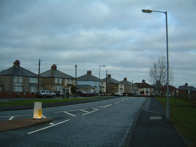 Older housing on Cushycow Lane