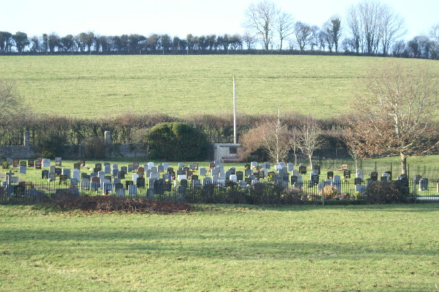 Cemetery north of Wedmore