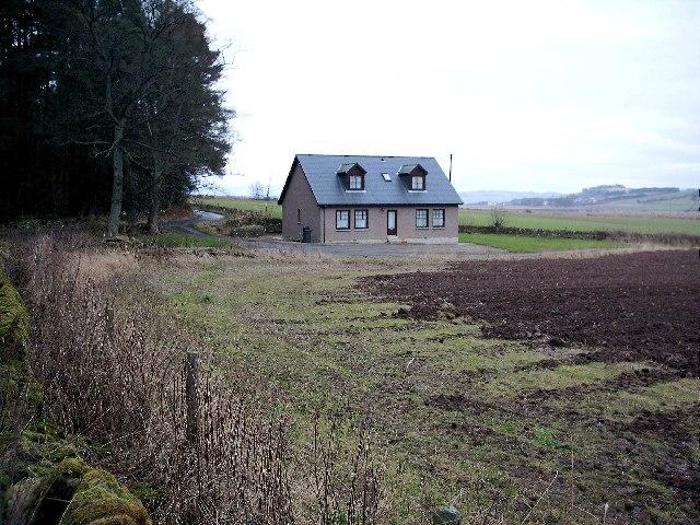 New House near Turwhappie Farm by Forfar.