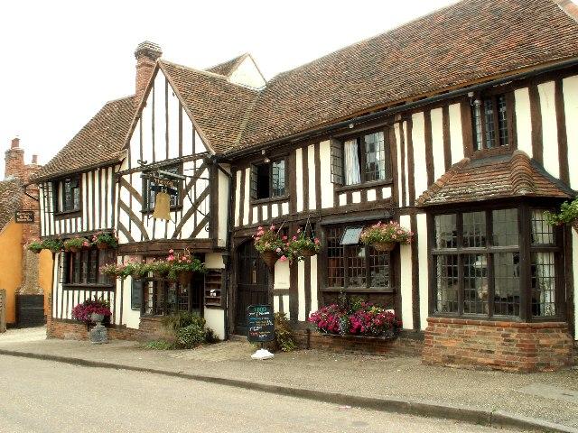 The Bell Inn at Kersey, Suffolk