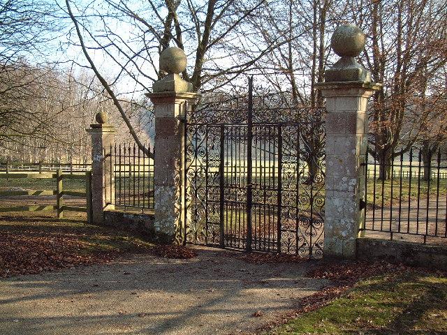 Dewlish Park Gates