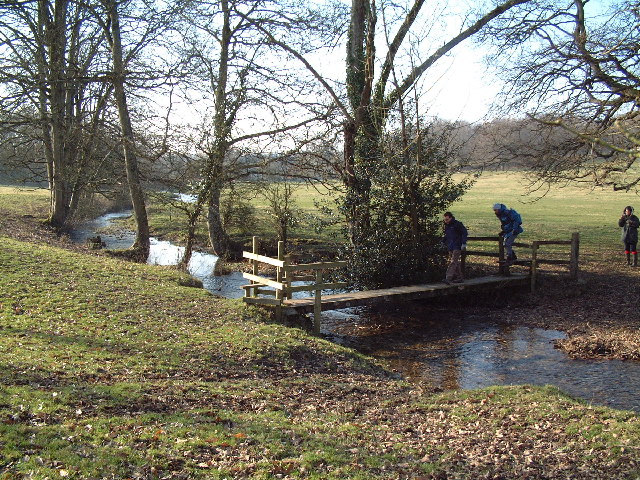 Footbridge over Devil's Brook