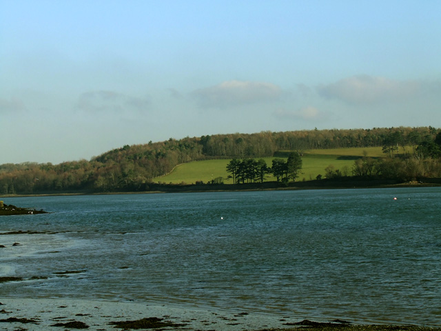 View across the Menai Strait  towards Faenol