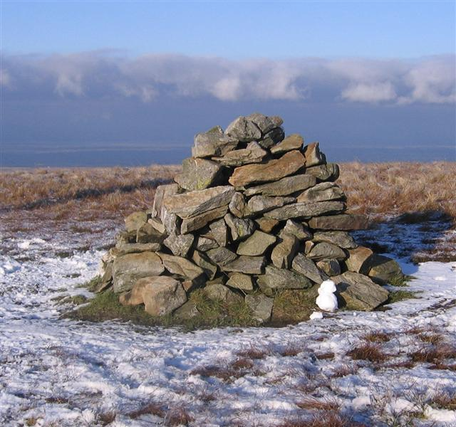 Great Scafell Cairn.