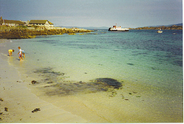 Iona - the Beach south of the Ferry Terminal.