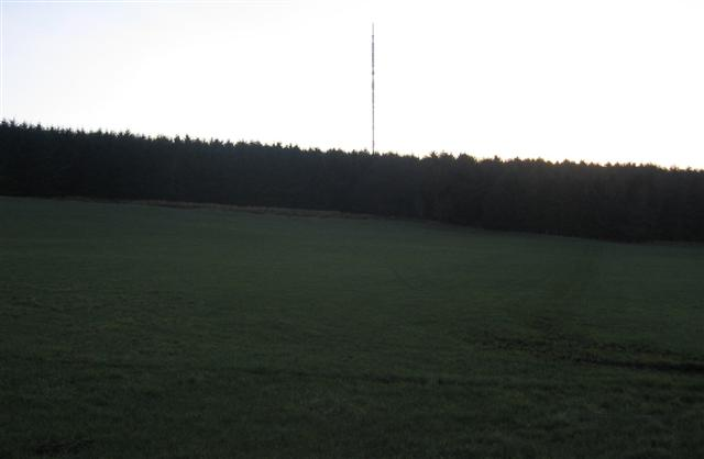 Sandale transmitter past Park Wood.