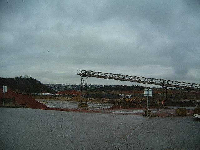 Blaydon Quarry works