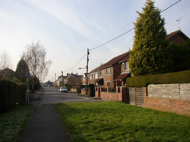 East end of Alexandra Road, Ash, Surrey