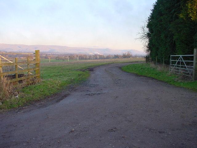 Bridleway and Farm Entrance