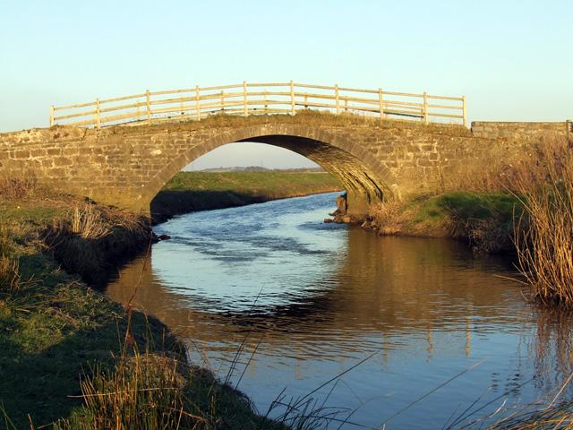 Old bridge over Cefni River