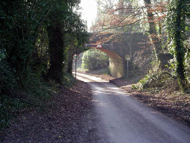 Railway bridge over Chillandham Lane