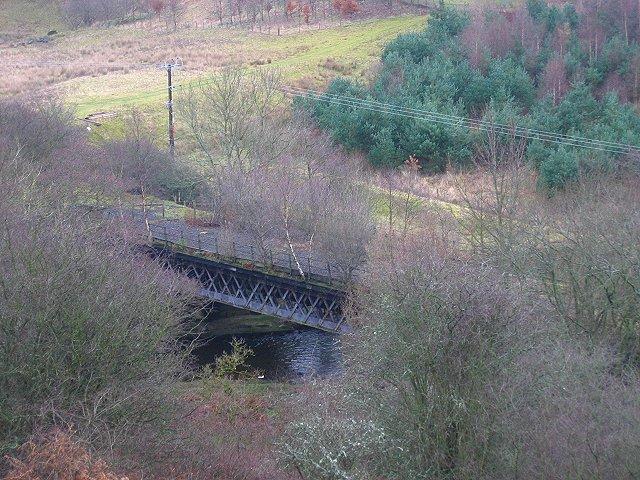 Railway Bridge over the Gala Water.