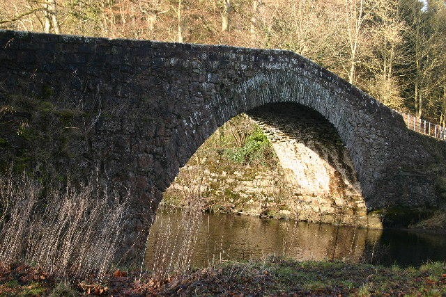 Old (Low Gardens) Bridge Over River Lowther