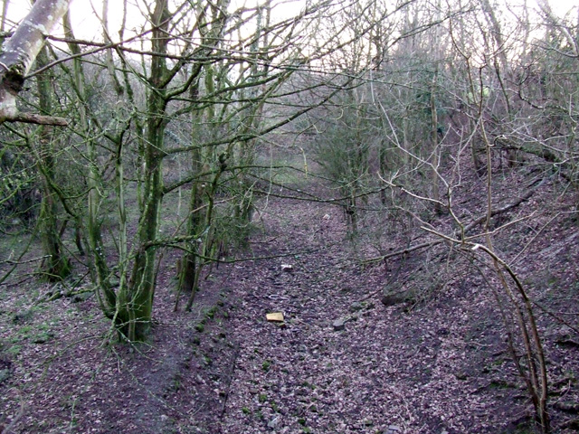 Dismantled railway between Pentre Berw and Benllech