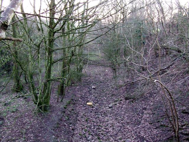 Dismantled railway between Pentre Berw and Benllech