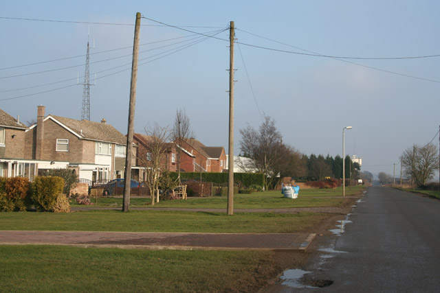 Houses on Gorse Lane, Grantham