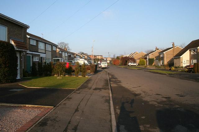 Stevenson Avenue, Gonerby Hill Foot, Grantham