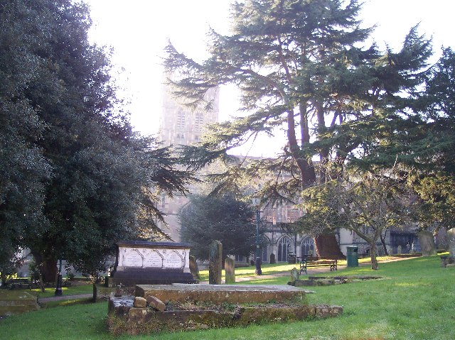 Malvern Churchyard