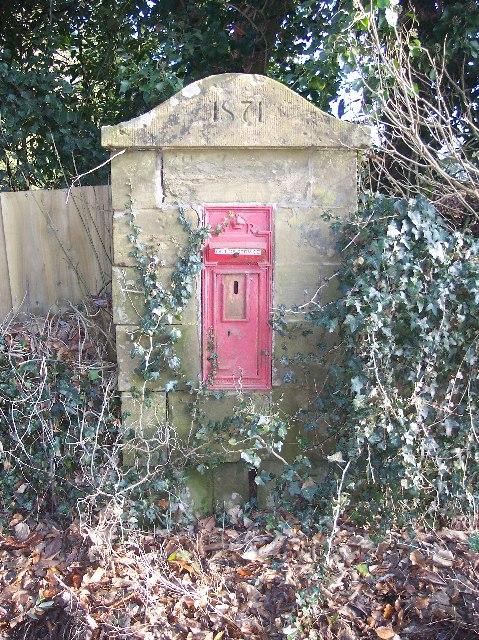 Old Letterbox, Bredenbury
