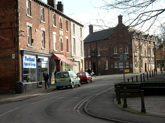 Eckington Village Centre (NE Derbyshire)
