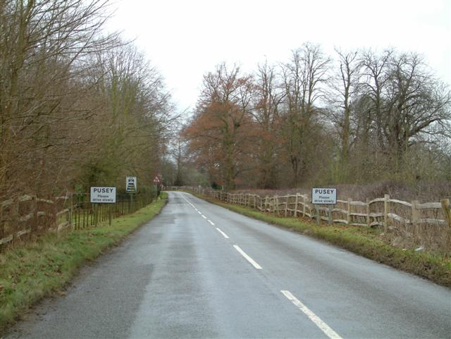 The outskirts of Pusey