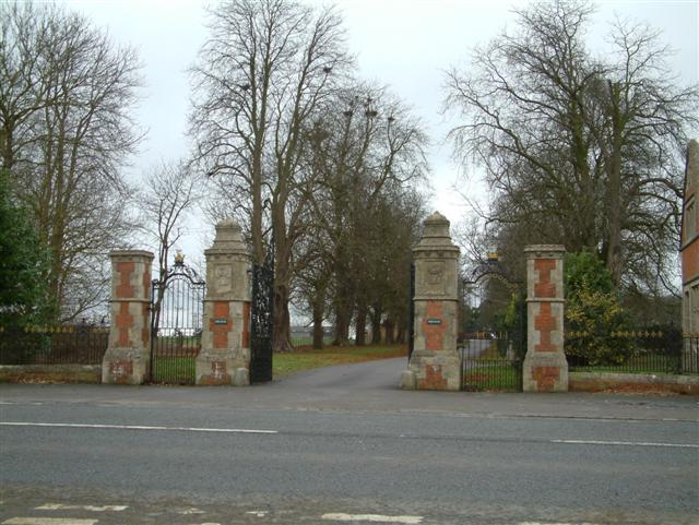 The Entrance to Barcote Manor