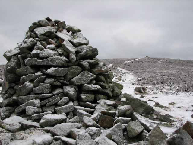 Cairns on Achnafree Hill