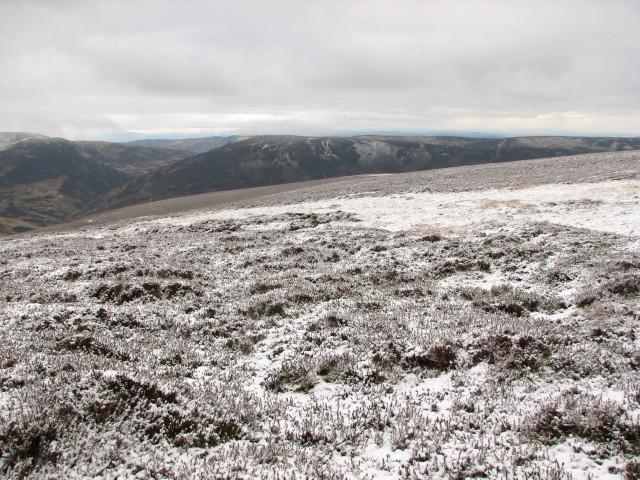 Northeast ridge of Auchnafree Hill