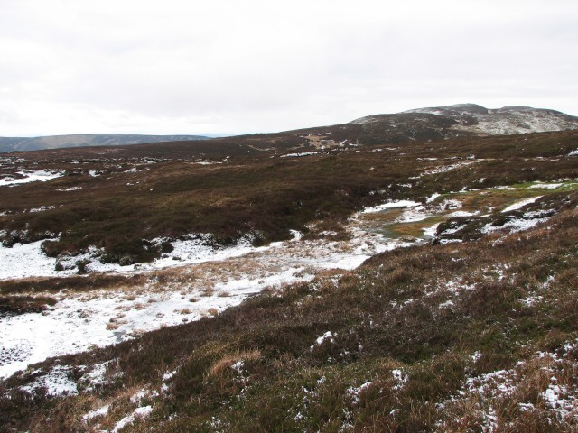 Looking across towards Stonefield Hill