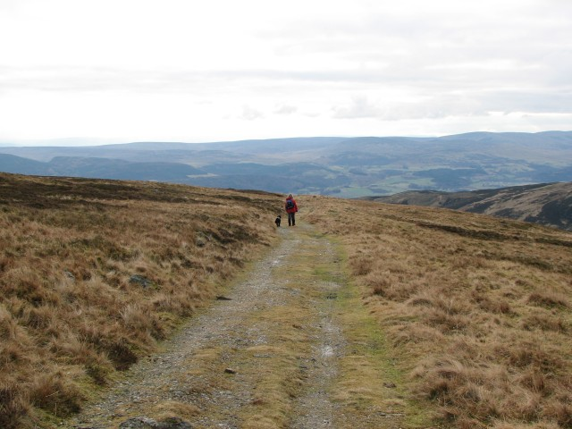 Choinneachain Hill track