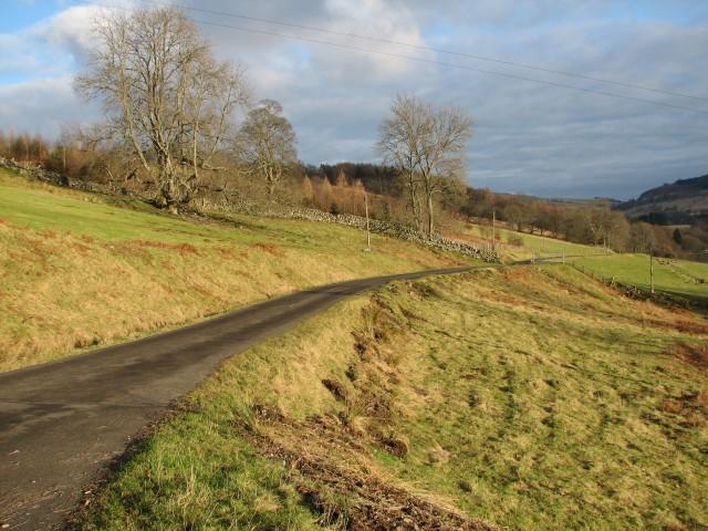 Glen Turret road