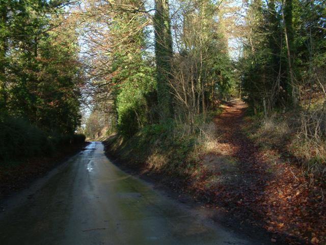 Footpath to Ardington.....