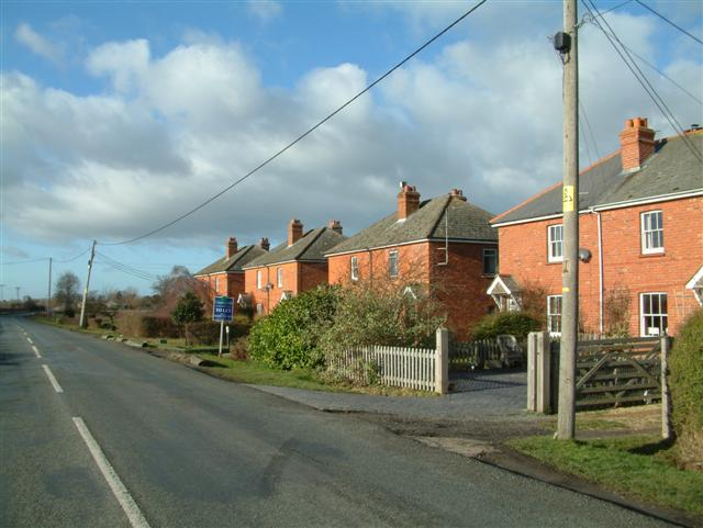 Cottages on Steventon Road