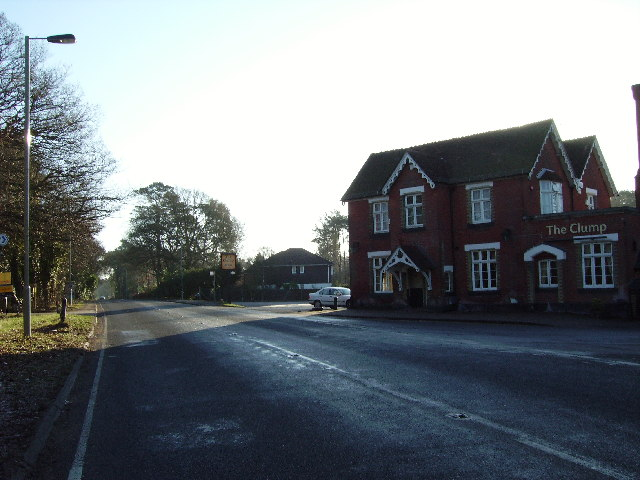 Chilworth Road, near The Clump