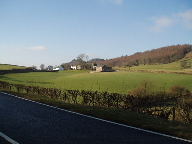 Looking across to Bethel from A494