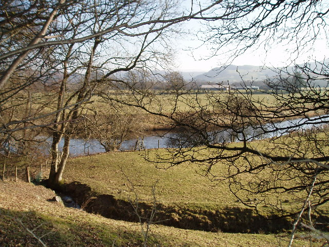 River Dee (1km east of Llanfor)