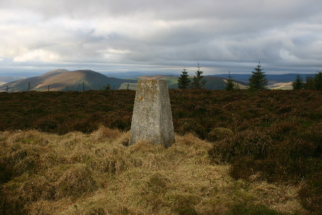 Knockandy Hill trig