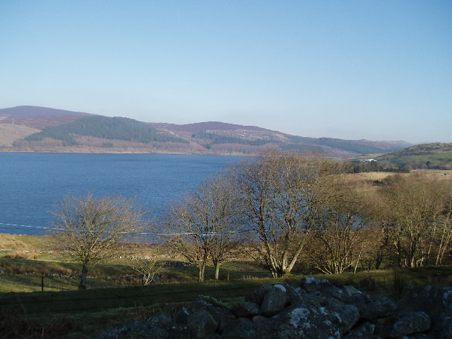 Llyn Celyn looking  NE